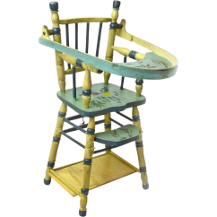 High Chair For Dolls Rattan Dining Room Chairs Uk Convertible Doll With Game Table Ca 1935 40
