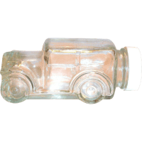 Vintage Clear Glass 1929 Car Candy Holder/Container from ...