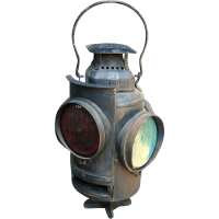 Adlake Non-Sweating Switch Lamp Railroad Lantern SOLD on ...