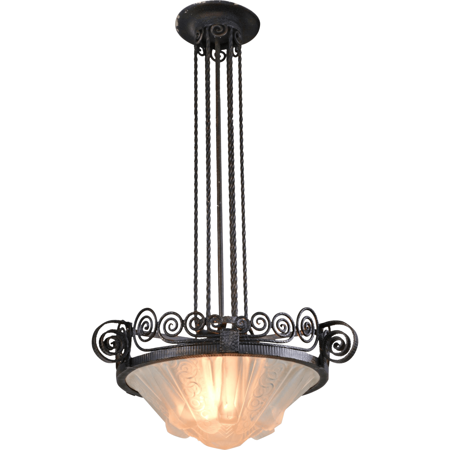 Porcelain Light Fixture