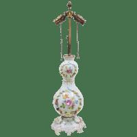 Antique Carl Thieme Dresden Lamp - Bailey, Banks and ...