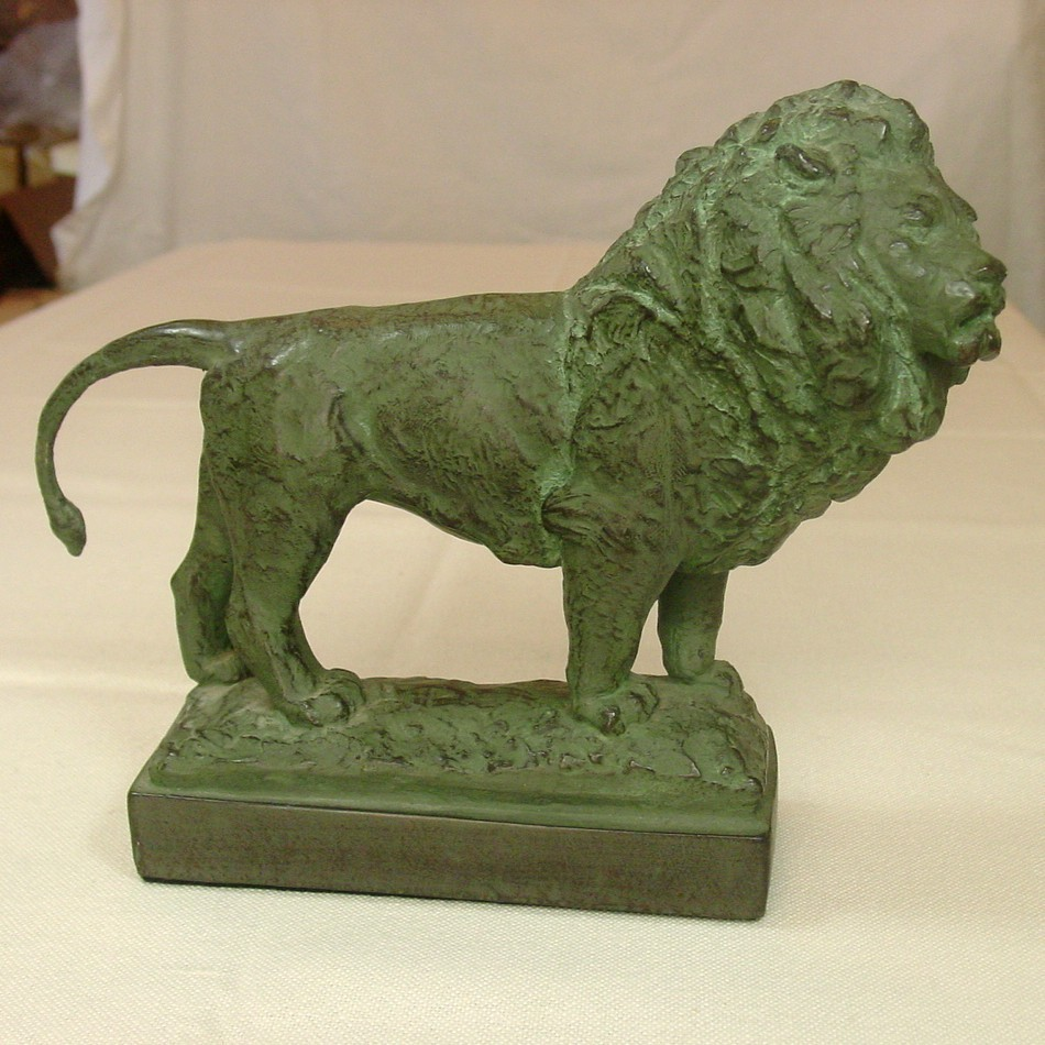 Lion Statues Alva Museum Replicas 1964 & 1972 Excellent