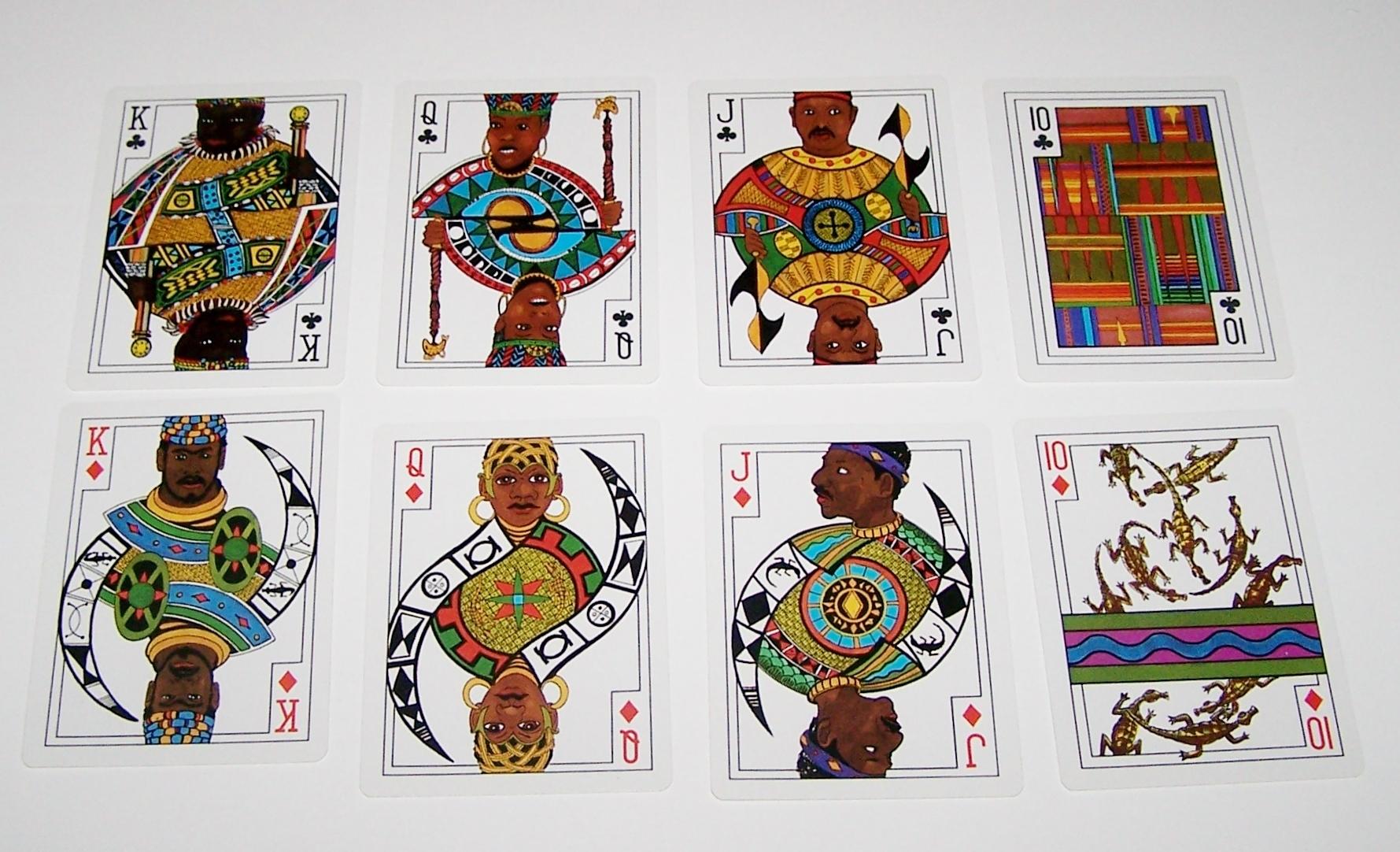 Carta Mundi African Art Playing Cards U. Games