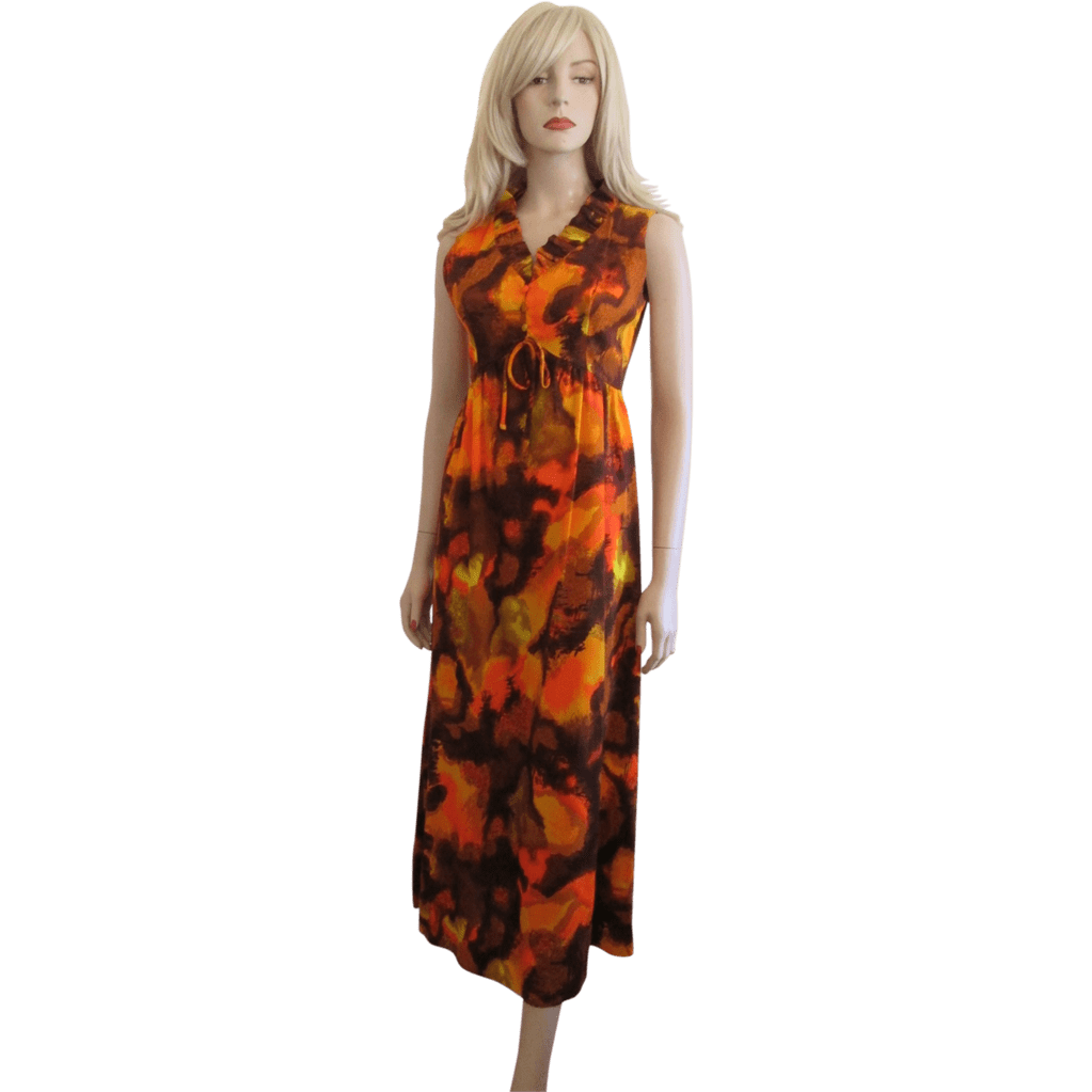 Hawaiian Maxi Dresses for Women