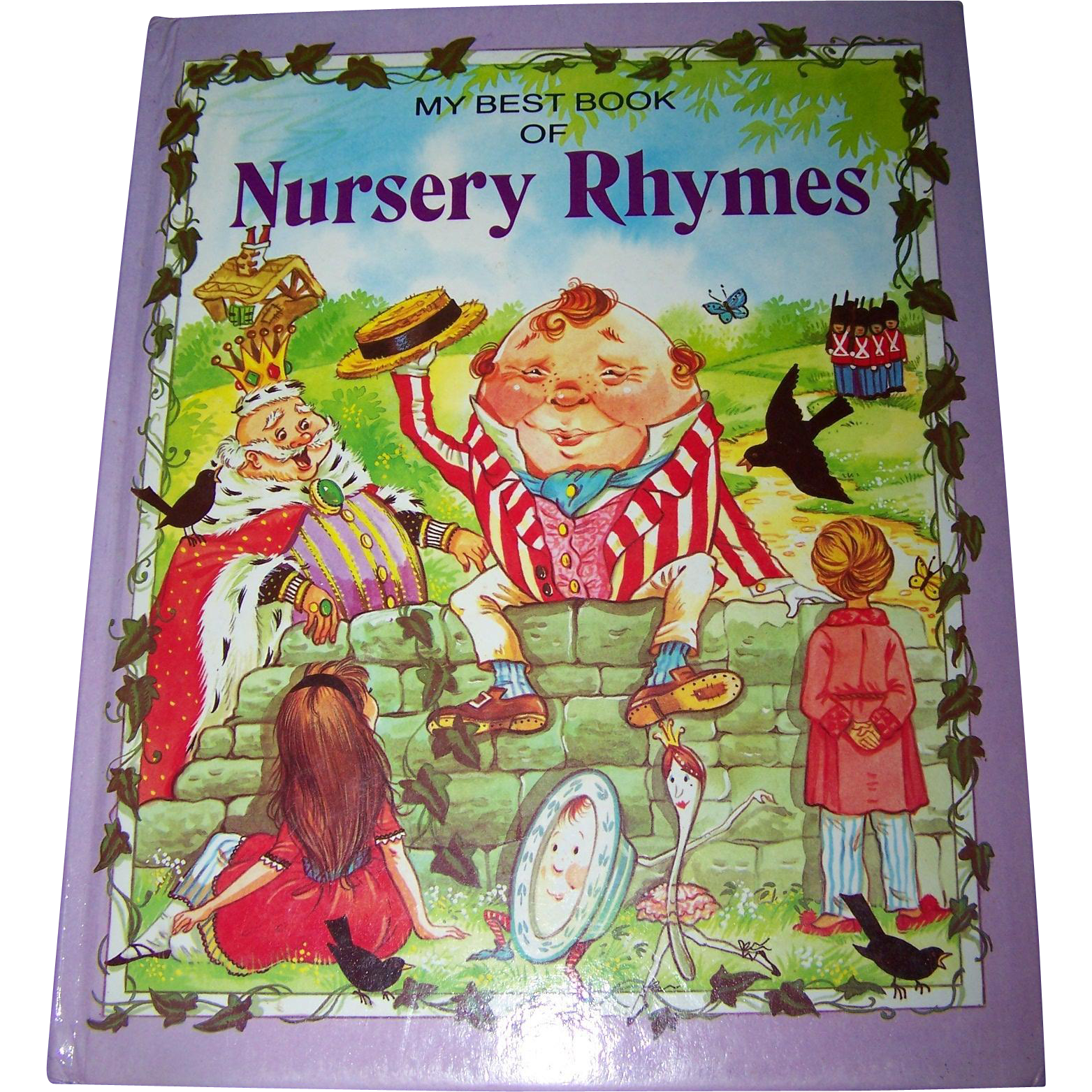 My Best Book Of Nursery Rhymes Over Sized Children S Book