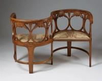 Tte a Tte sofa designed by Alf Wallander for Gibbels