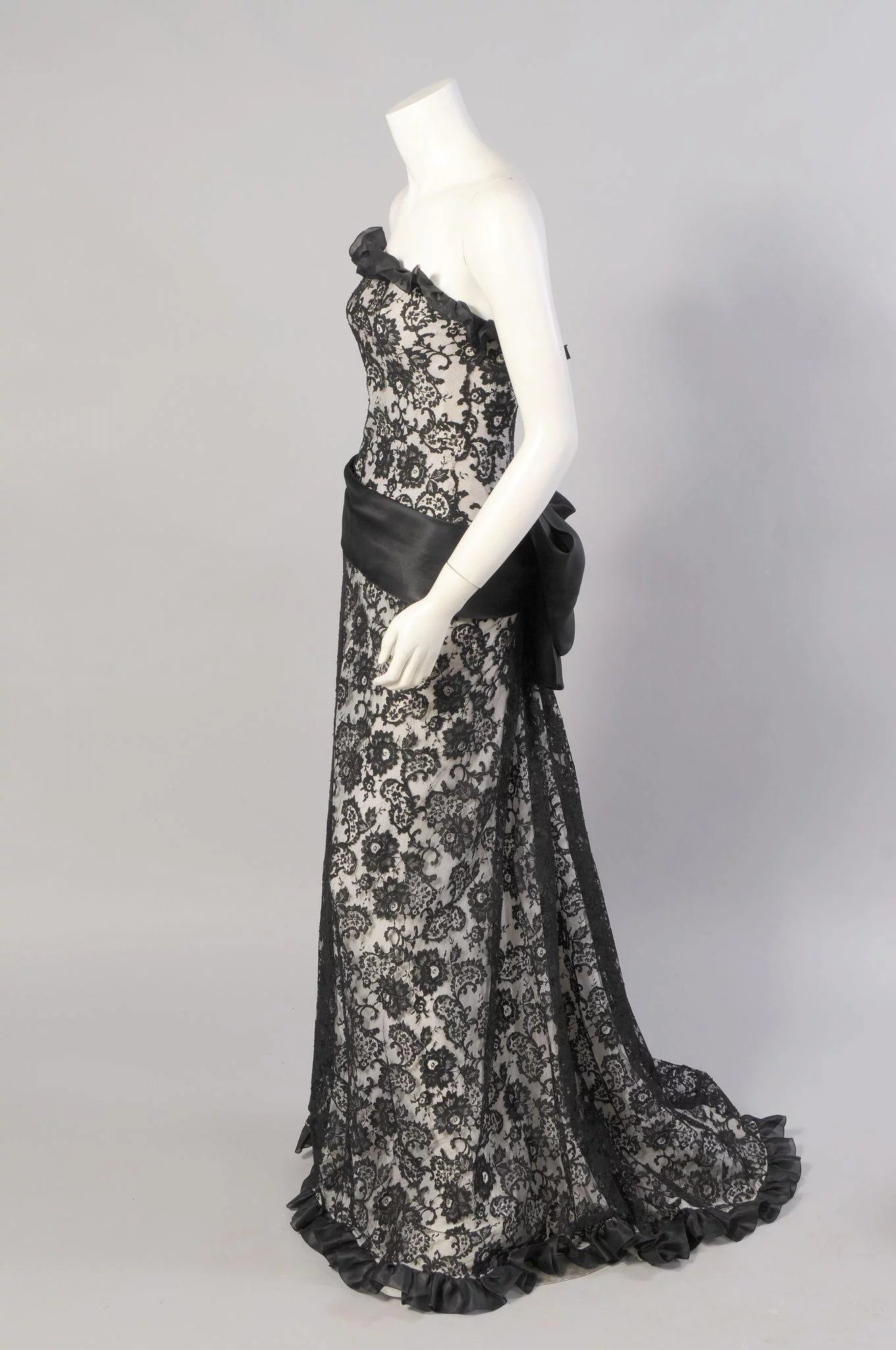 Yves Saint Laurent Haute Couture Evening Dress  Katy Kane  RubyLUX