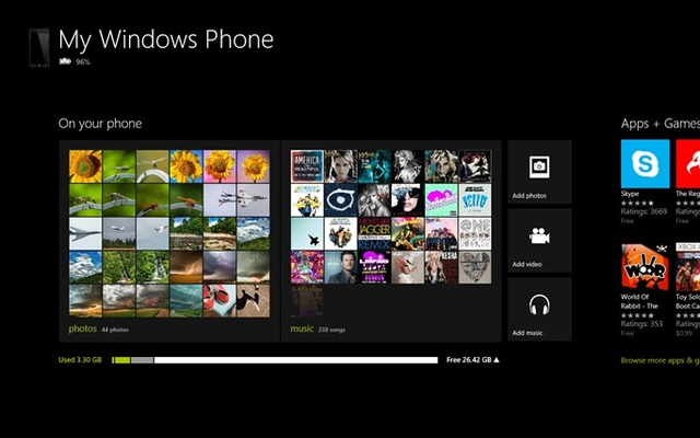 windows phone companion app