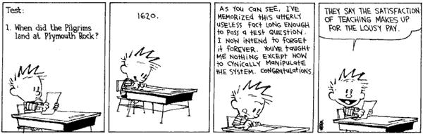Image result for images of calvin and hobbes comic strips