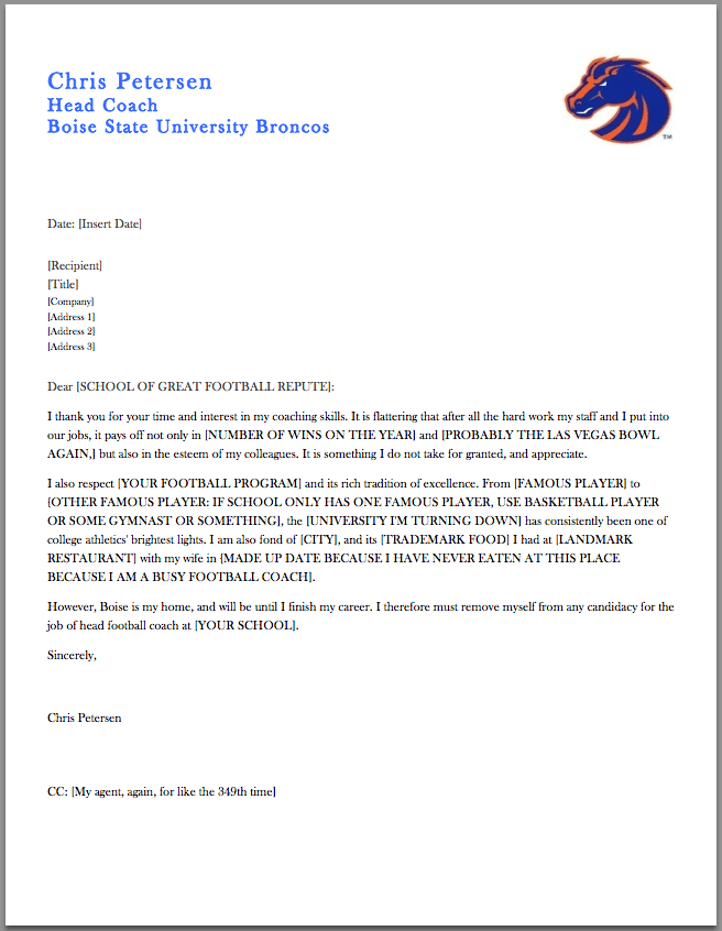 coaches letter of recommendation samples