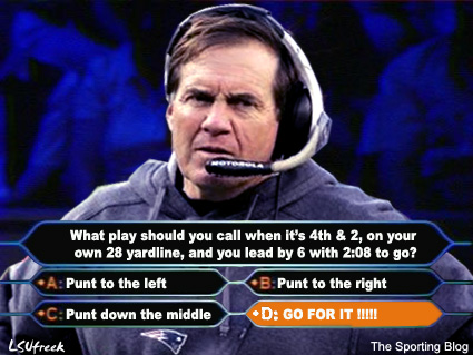 Offsides Bill Belichick Is That Your Final Answer