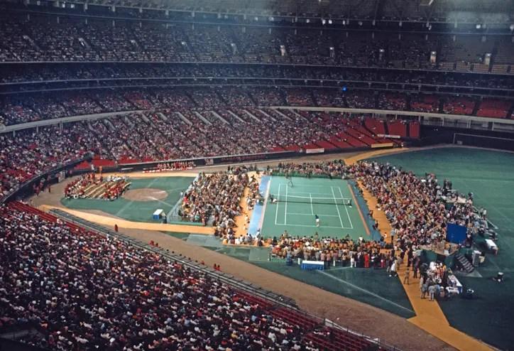 1973 Batalla de los sexos, Billie Jean-King vs Bobby Riggs