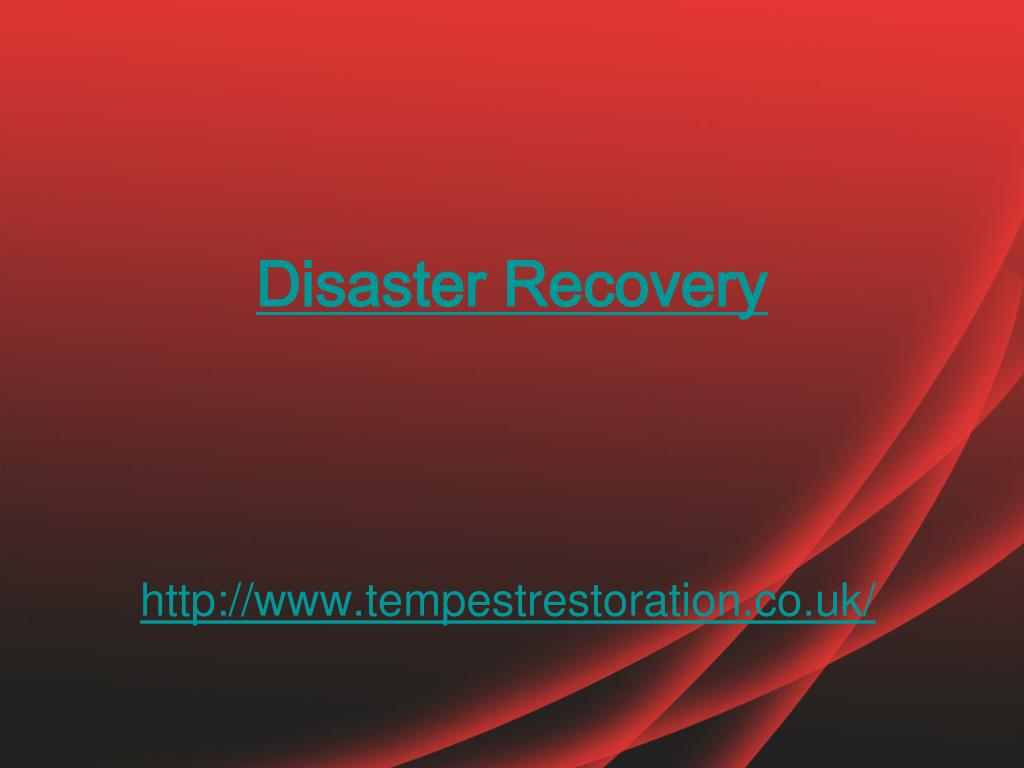 Disaster Recovery Specialist Ppt Disaster Recovery Specialist Powerpoint Presentation Id 127569