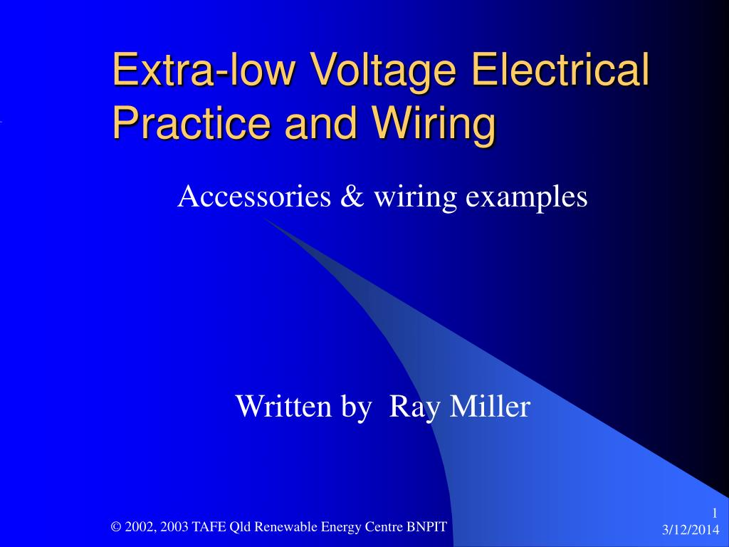hight resolution of ppt extra low voltage electrical practice and wiring powerpoint electrical wiring accessories information ppt
