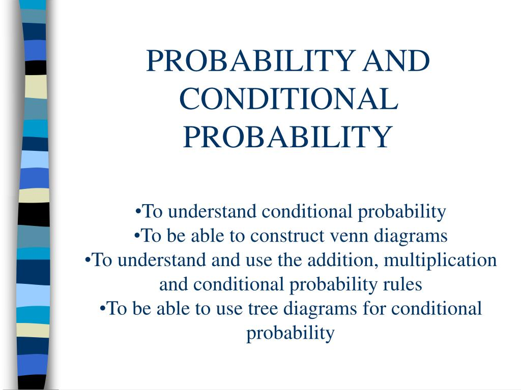 hight resolution of probability and conditional probability l
