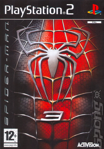 Covers Amp Box Art Spider Man 3 PS2 1 Of 1
