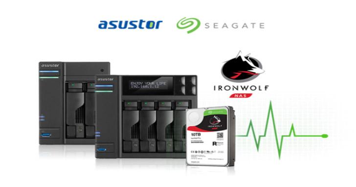 華蕓科技與希捷整合IronWolf 健康管理至ASUSTOR NAS系統   T客邦