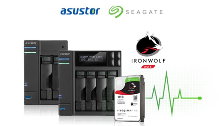 華蕓科技與希捷整合IronWolf 健康管理至ASUSTOR NAS系統 | T客邦