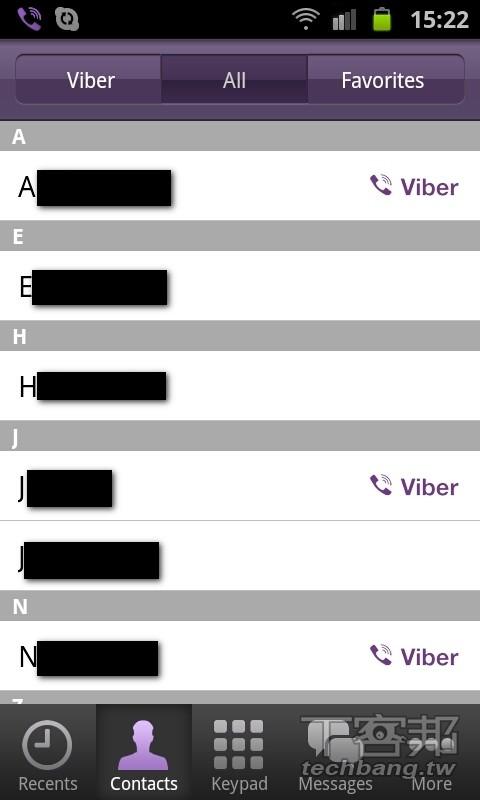 Android 的電話可以丟了,改打 Viber 不用錢 - 第 2 頁 | T客邦