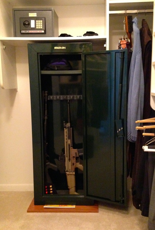 SelfDefense Tip Make Sure the Right Gun Safe is in the