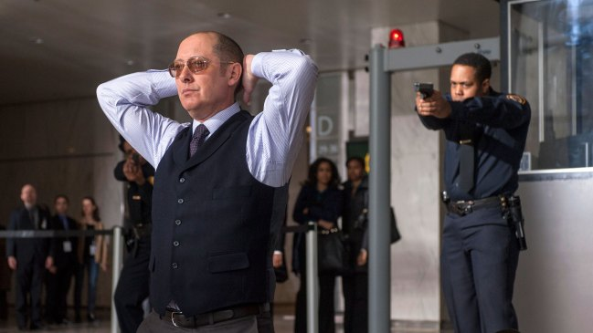 Raymond Reddington se rend dans Blacklist