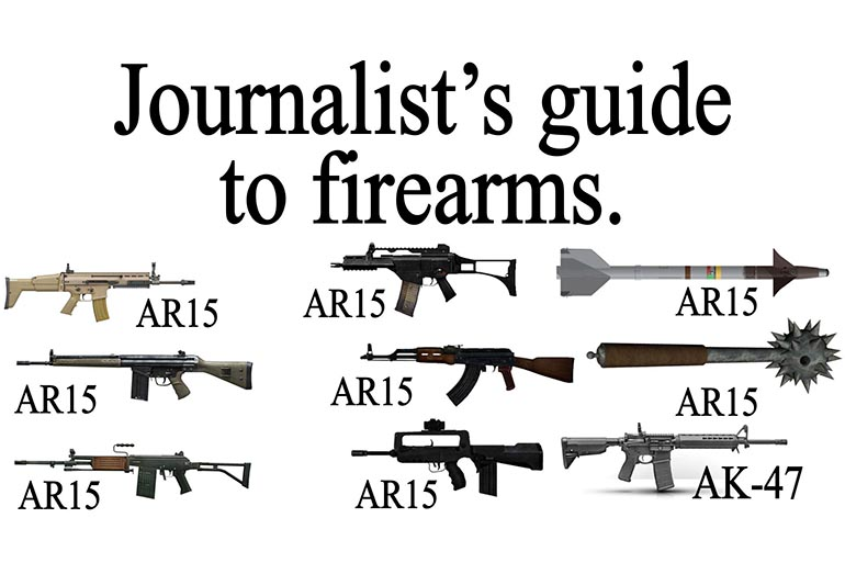 The Mainstream Media Guide to 'Gun Violence' Coverage
