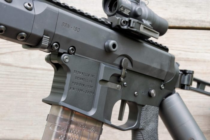 Gun Review: Brownells BRN-180S Upper with BRN-180M Lower - The Truth About Guns