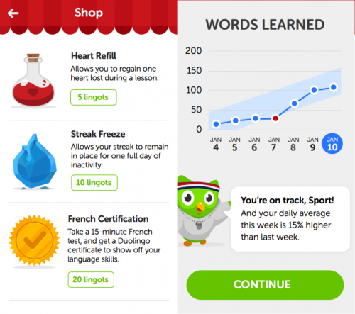 Duolingo 1 730x647 Language learning platform Duolingo wants to be a game, which suits its next target: Asia