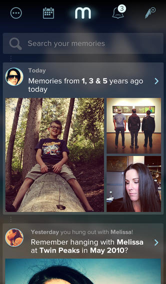 Memoir adds Twitter support to its social photo archive iOS app
