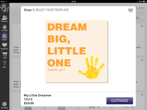 Photo 31 01 2014 16 33 42 730x547 Handpressions: Capture, store and print your kids hand and footprints directly from your iPad