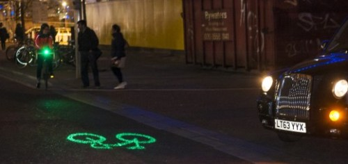BlazeLaserlight 520x245 Watch out! Blazes Laserlight for cyclists is now available to pre order, shipping February 26