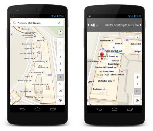 India Indoor 730x624 Google's indoor maps arrive in India so you dont get lost in shopping malls