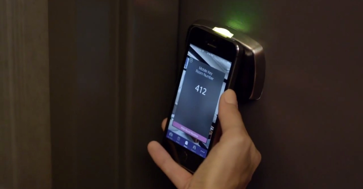 Smartphones Are the Hotel Room Keys of the Future