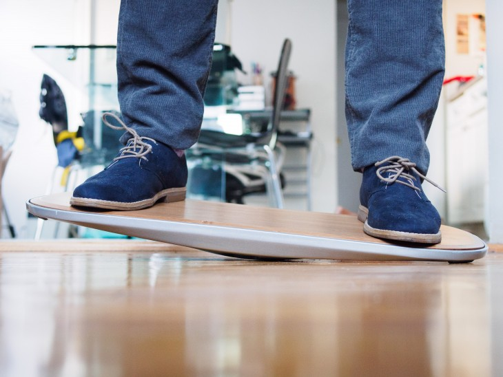 The Level Is a Balance Board for Standing Desks and Its
