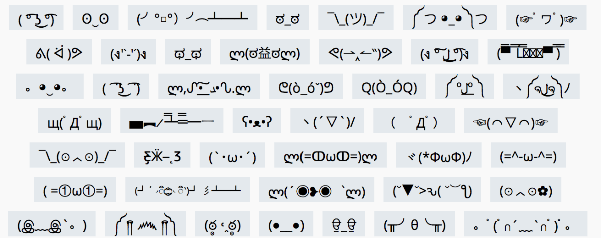 Does Emoji What Rectangle Mean