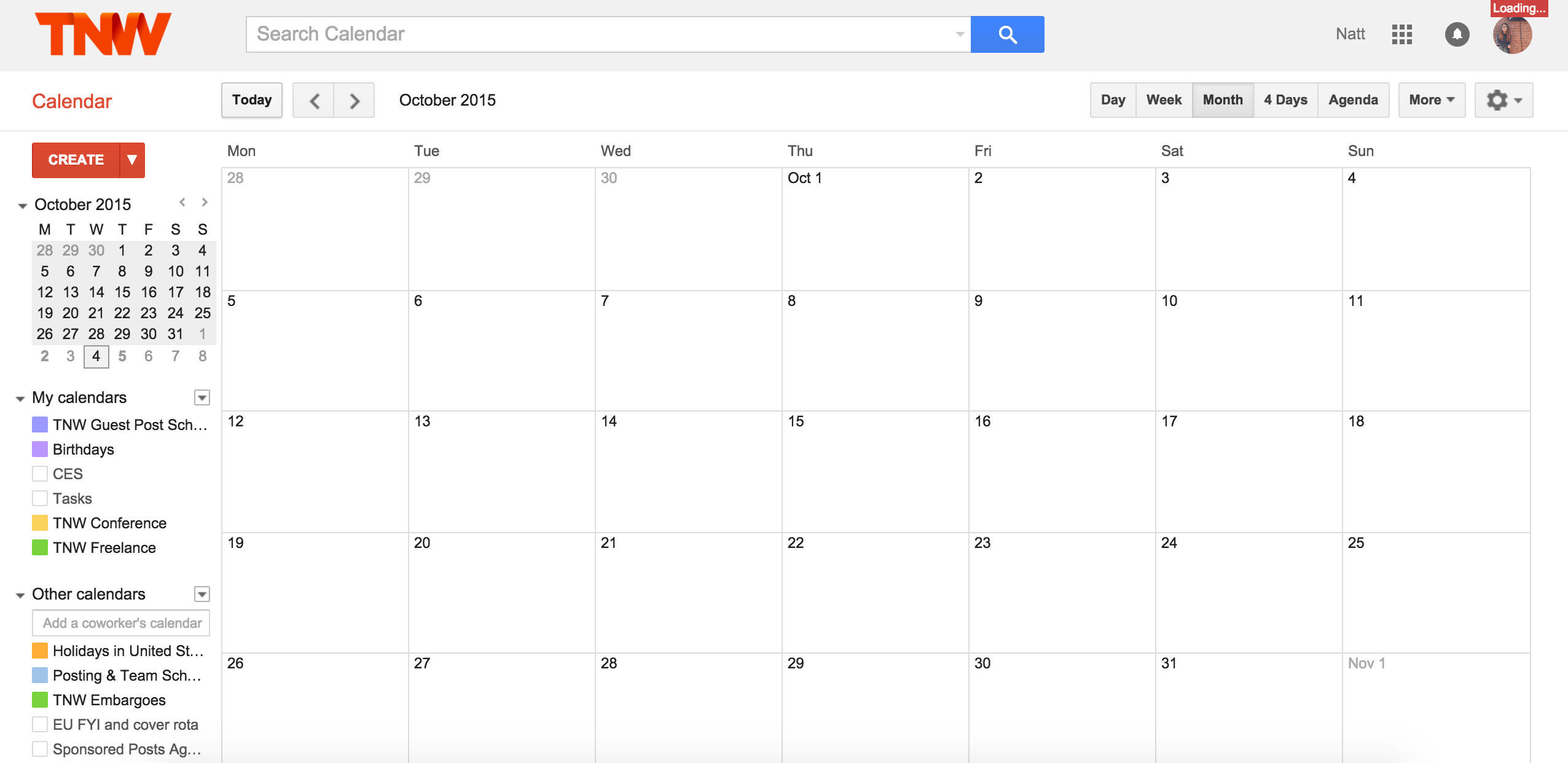 Google Calendar is down, consider all your meetings