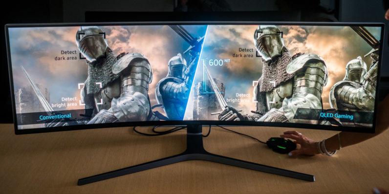 Pubg 3840x1080 Wallpaper Samsung S Insane 32 9 Gaming Monitor Laughs At Your Dual