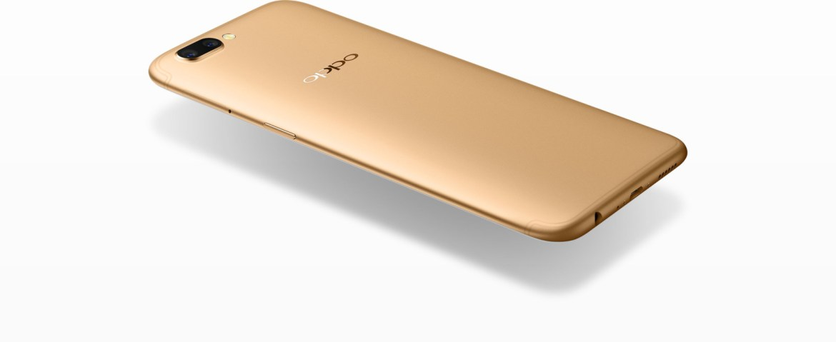 Oppo's R11 is only 6.78mm thick (but incidentally comes with a 3.5mm jack)