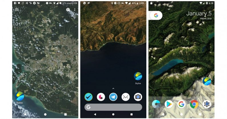 This Android Live Wallpaper Brings You A Bird's Eye View