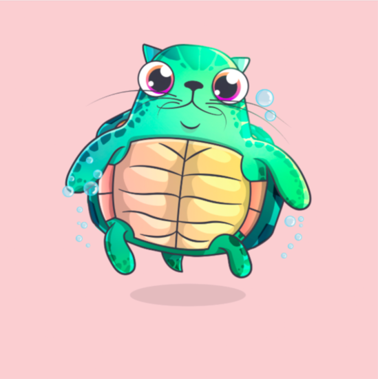 cryptokitty, honu, turtle