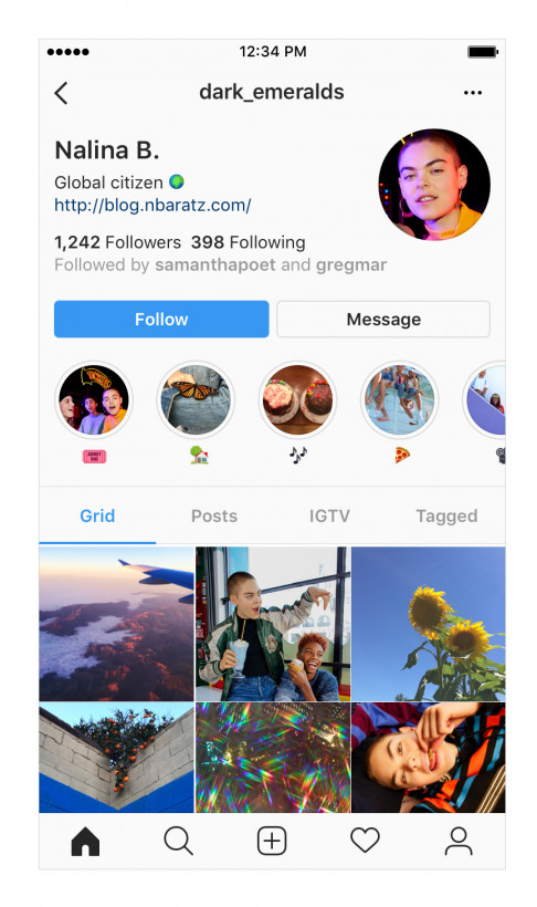 Instagram is de-emphasizing users' follower counts with a small tweak to profile page layouts