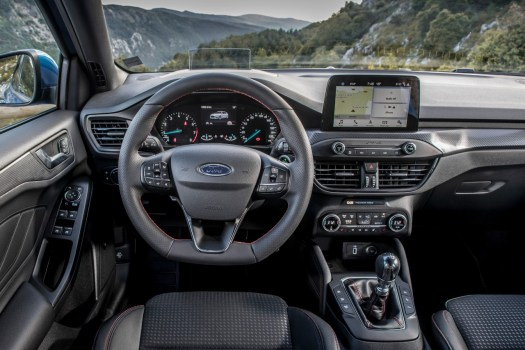 Ford, focus, car, connected, infotainment
