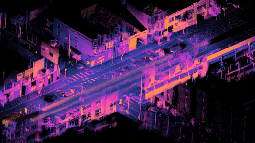 Lidar, image, point cloud, car, moving