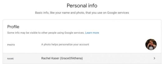 How to change your name on social media platforms 4