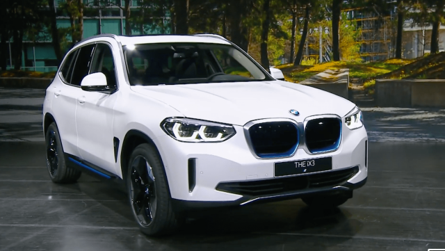 bmw, ix3, first look, pictures, car, electric