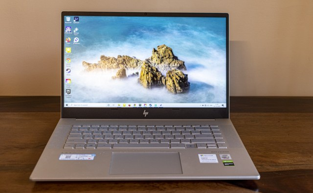 The HP Envy 15's display is decent enough, but I expected greater color accuracy and brightness for a 'content creation' device