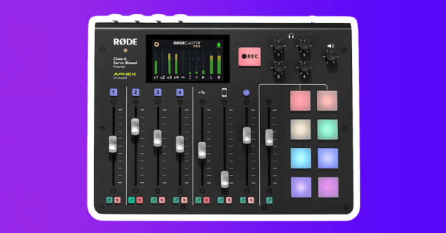 amazing 2020 gift guide podcasters rodecaster pro rode