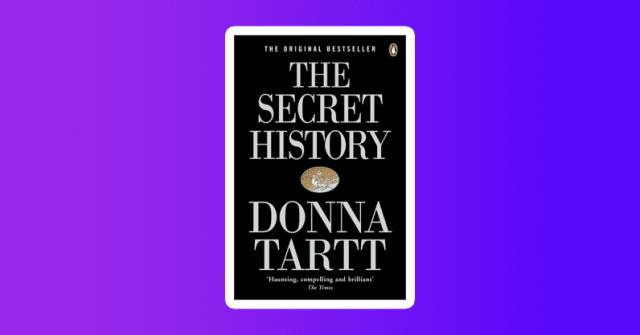 donna tartt secret history gift