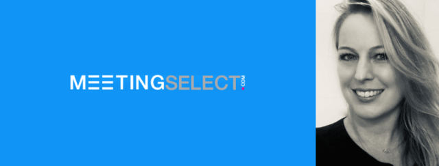 MeetingSelect founder and logo