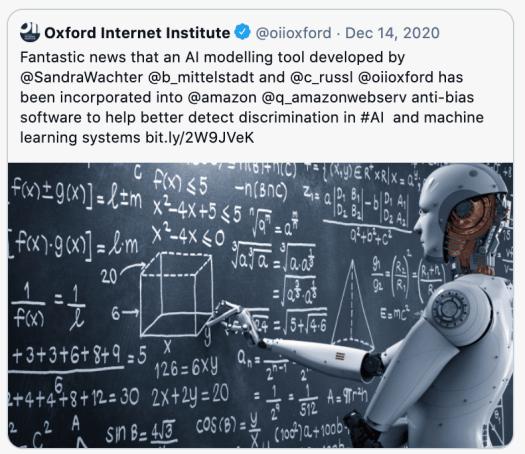 AI robots are super-smart.